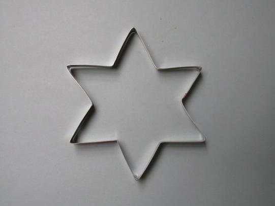 pcs820 Extra Large 6 pointed Star 110mm